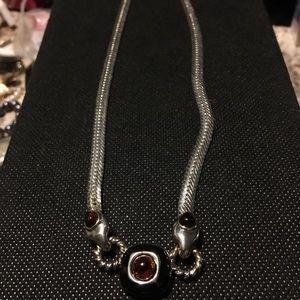 Tiger Eye Herringbone chain